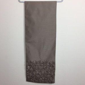 Inspired Tapestries Dark Beige Bows Table Runner